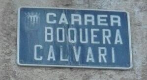 Carrer Boquera Calvari