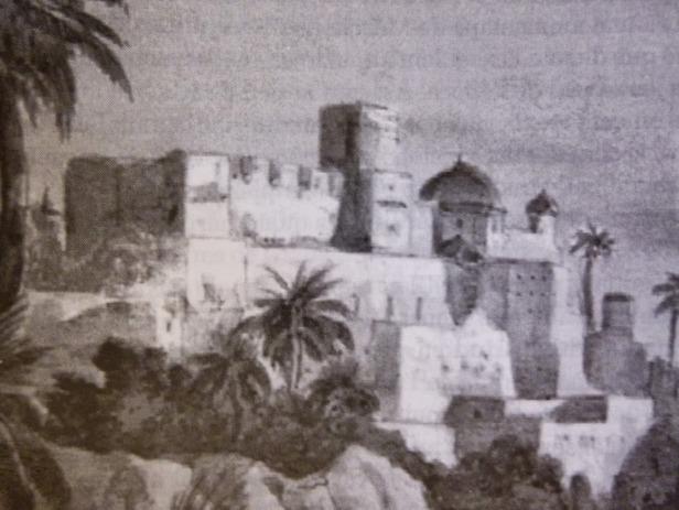 Antigua foto del castillo